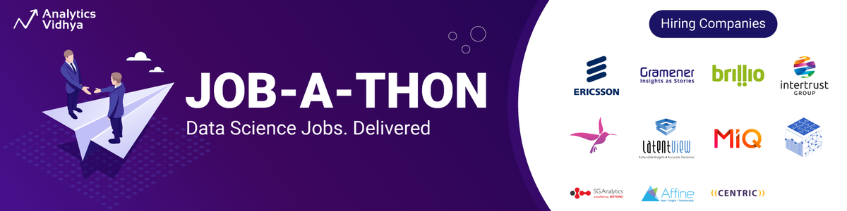 job-a-thon data science banner